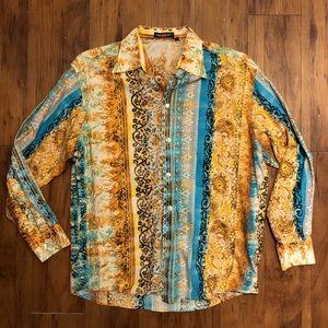Yashi yamamuri men's colorful 80s long sleeve